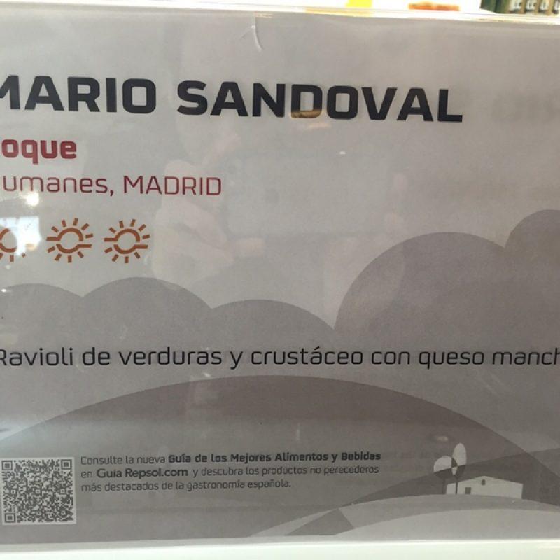 Mario Sandova, del restaurante El Coque